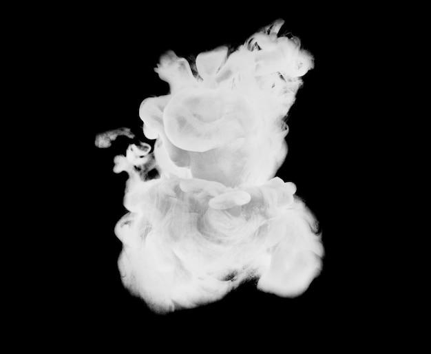 Inkt explosie kleurovergang grijs splash