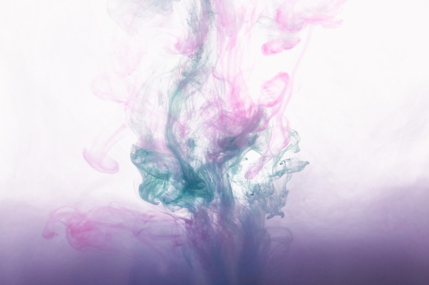Inkt op water abstracte achtergrond