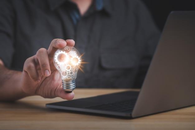 Innovatie idee concept