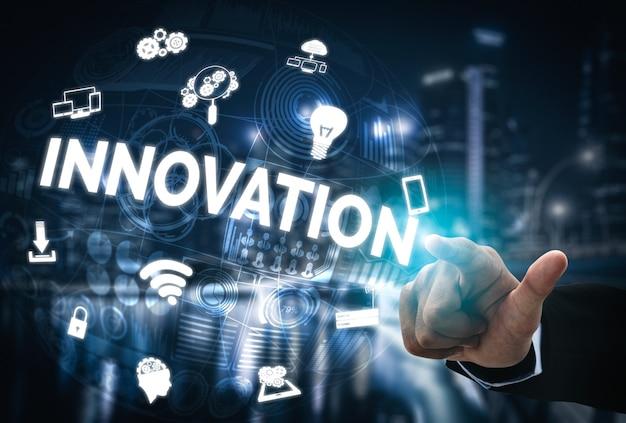 Innovatietechnologie voor bedrijfsfinanciënconcept