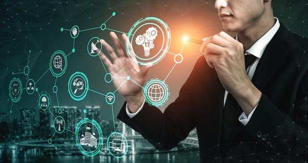 Innovatietechnologie voor business finance concept