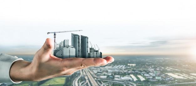 Innovatieve architectuur en civieltechnisch plan