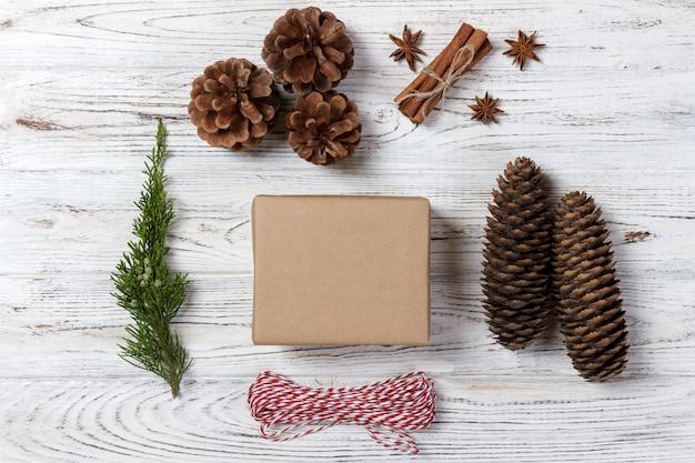 Inpakken geschenken concept voor vakantie