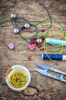 Instellen voor handwerk kralen