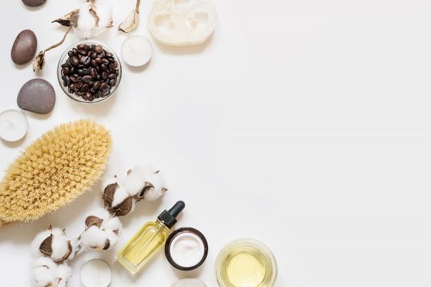 Instellen voor verwijdering van spa en cellulitis op wit