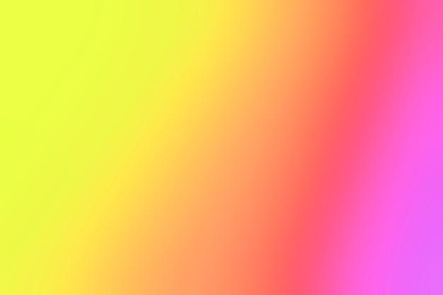 Intensieve kleuren in onscherpte