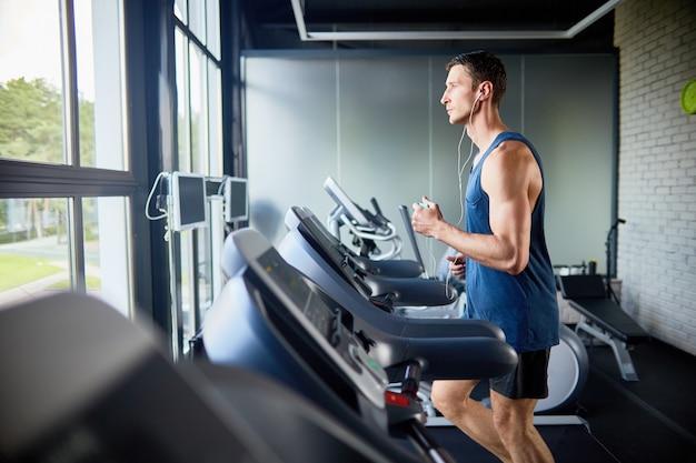 Intensieve training bij modern gym