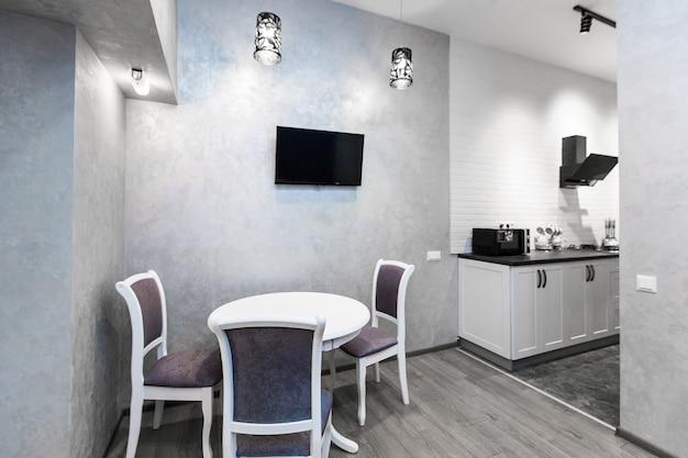 Interieur fotografie keuken studio in loft-stijl