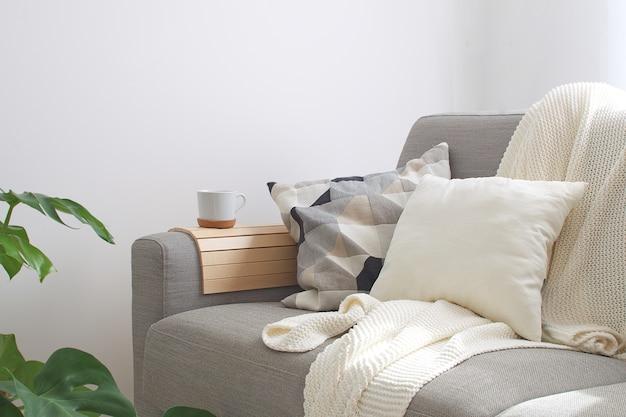 Interieur gezellige woonkamer