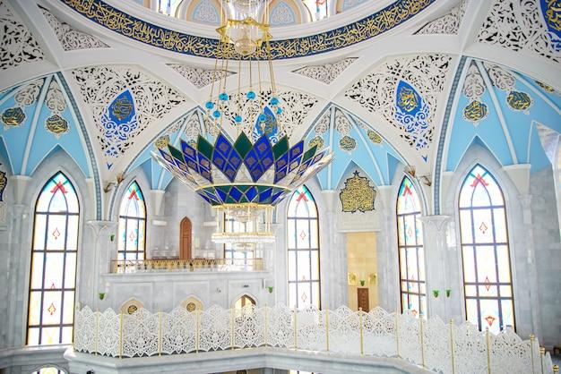 Interieur van de moskee