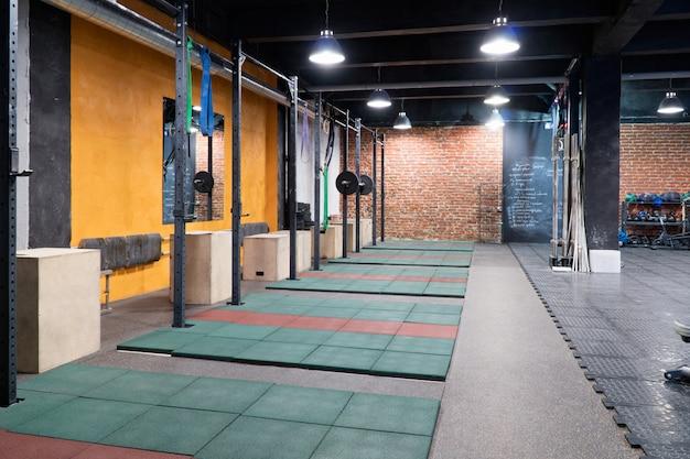 Interieur van een fitness gym