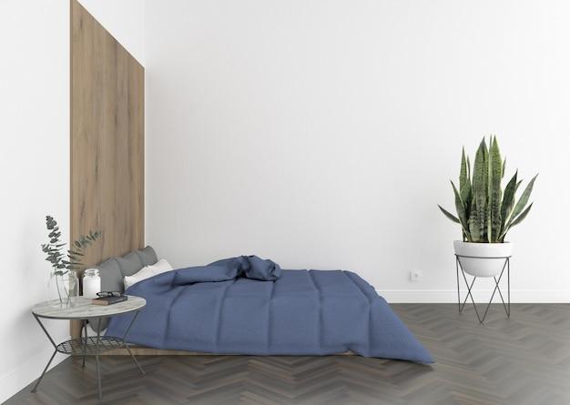 Interieur van slaapkamer
