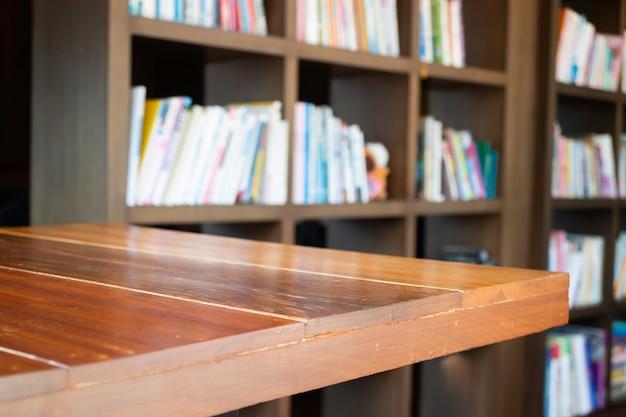 Interieur werkruimte houten meubilair, stockfoto