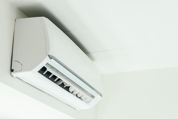 Interieurinrichting met airco-decoratie