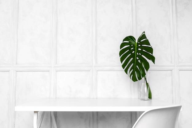 Interieurontwerp van creatief kantoor aan huis