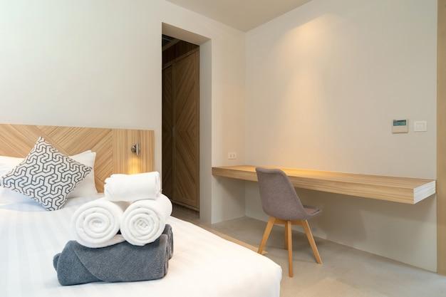 Interieurontwerp van een hotelkamer