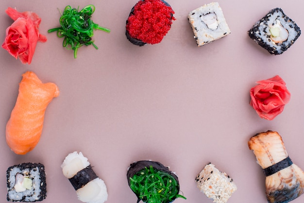 Internationaal sushi-dagevenement