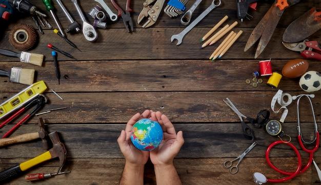 Internationale arbeidsdag en dag van de arbeid