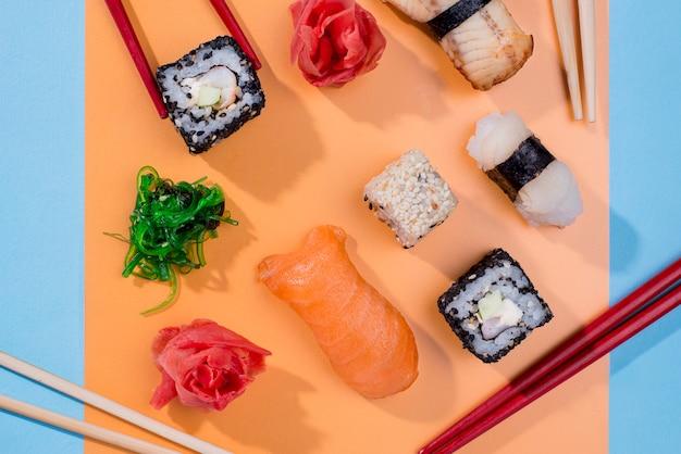Internationale sushi-dag
