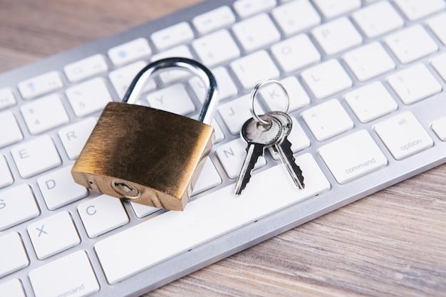 Internet en computer veiligheidsconcept.