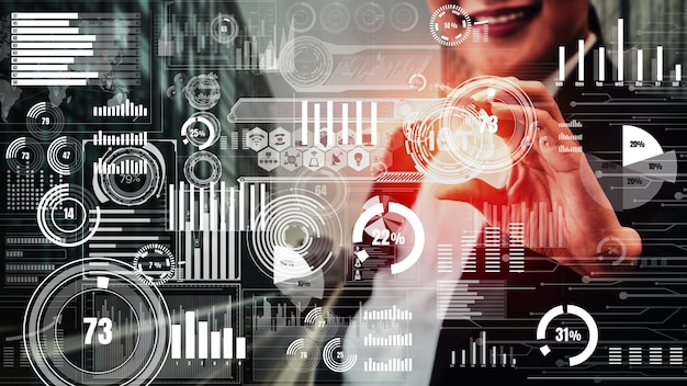 Internet of things en communicatietechnologie conceptueel