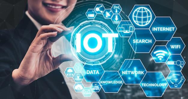 Internet of things en communicatietechnologie
