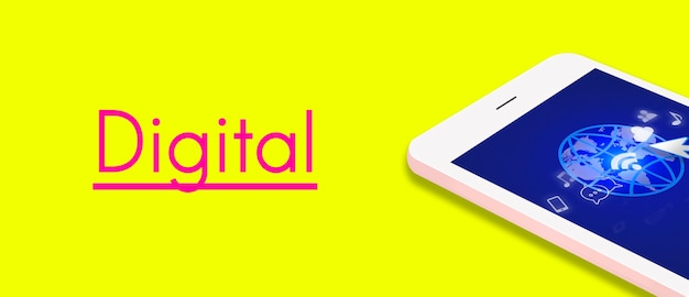 Internet sociale technologie digitaal verbindingsapparaat