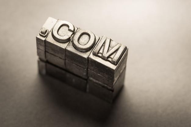 Internet, www, website en .com business