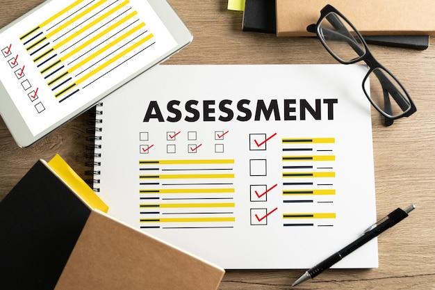 Interviewbeoordeling en bril