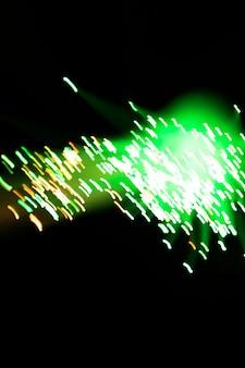 Intreepupil groene optische vezels