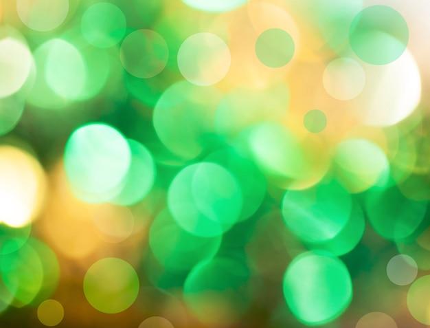 Intreepupil vintage glanzende lichten kerst bokeh achtergrond.