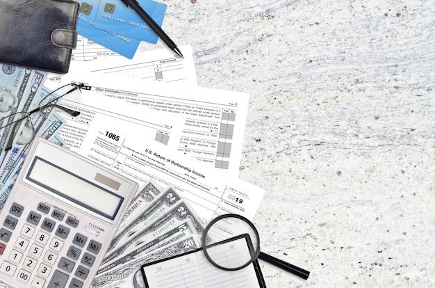 Irs vormen 1065 us return of partnership income