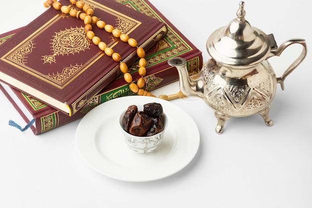 Islamitisch nieuwjaar koranboek met data