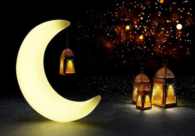 Islamitische eid mubarak.