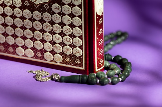 Islamitische nieuwjaarssamenstelling met koran