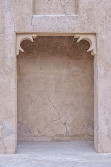 Islamitische traditionele architectuur boogframe