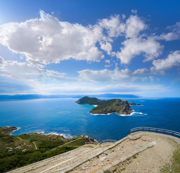 Islas cies-eilanden san martino-eiland in vigo galicië
