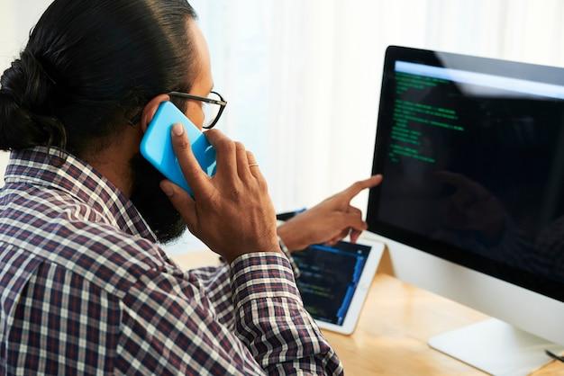 It-ingenieur advies over gegevens