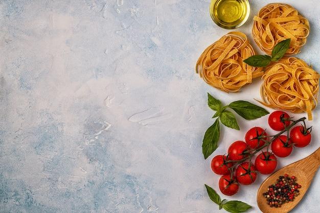 Italiaans eten bereiden