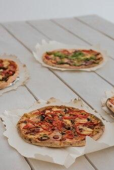 Italiaanse pizza's