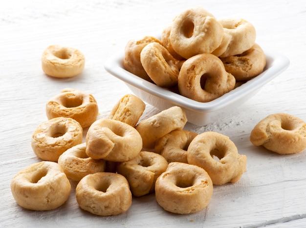Italiaanse taralli crackers