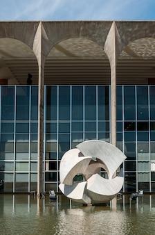 Itamaraty paleis ministerie van buitenlandse zaken van brazilië brasilia df brazil op 14 augustus 2008