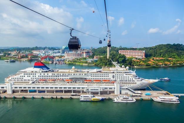 Jachthaven, zeereizen in singapore.