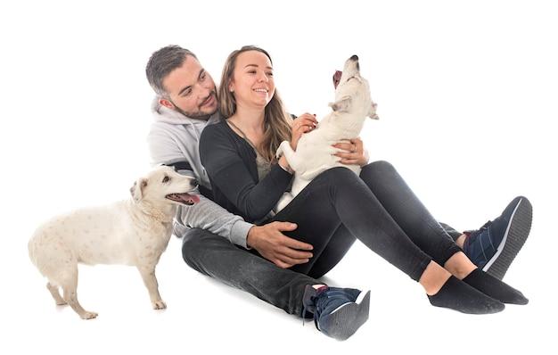 Jack russel terriers en koppel