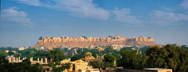 Jaisalmer fort bekend als de golden fort sonar quila, jaisalmer, india