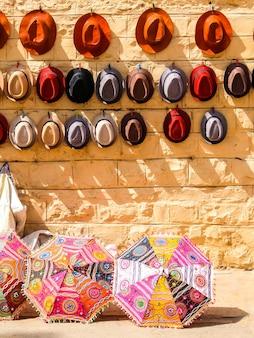Jaisalmer india street-winkel in jaisalmer