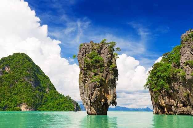 James bond-eiland, phang nga, thailand