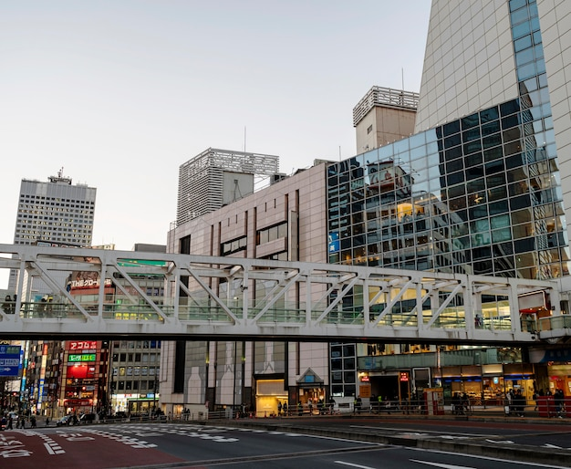 Japan straten en gebouwen stedelijk landschap