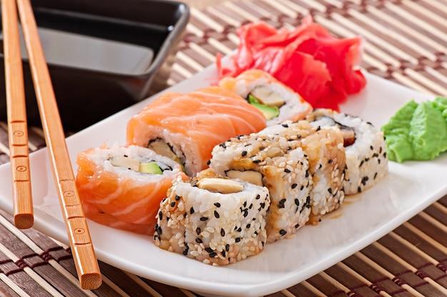 Japans eten - sushi en sashimi