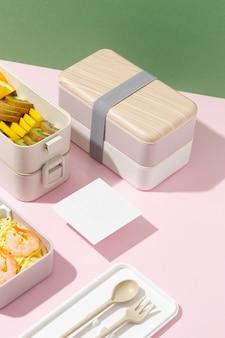 Japanse bentobox-samenstelling